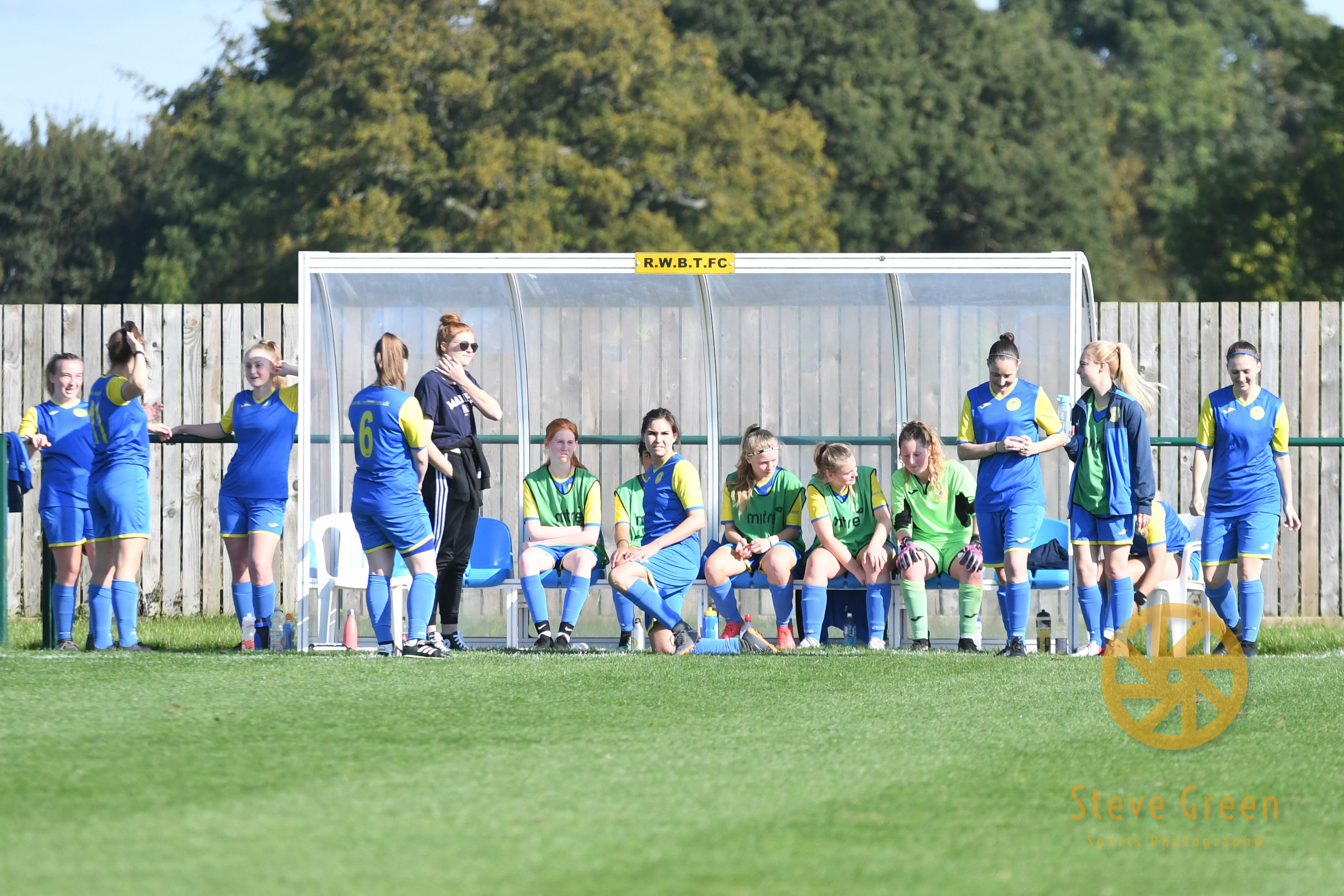 Photos from Royal Wootton Bassett Town Ladies 9-1 win against Bishops Lydeard (Credit: Steve Green)