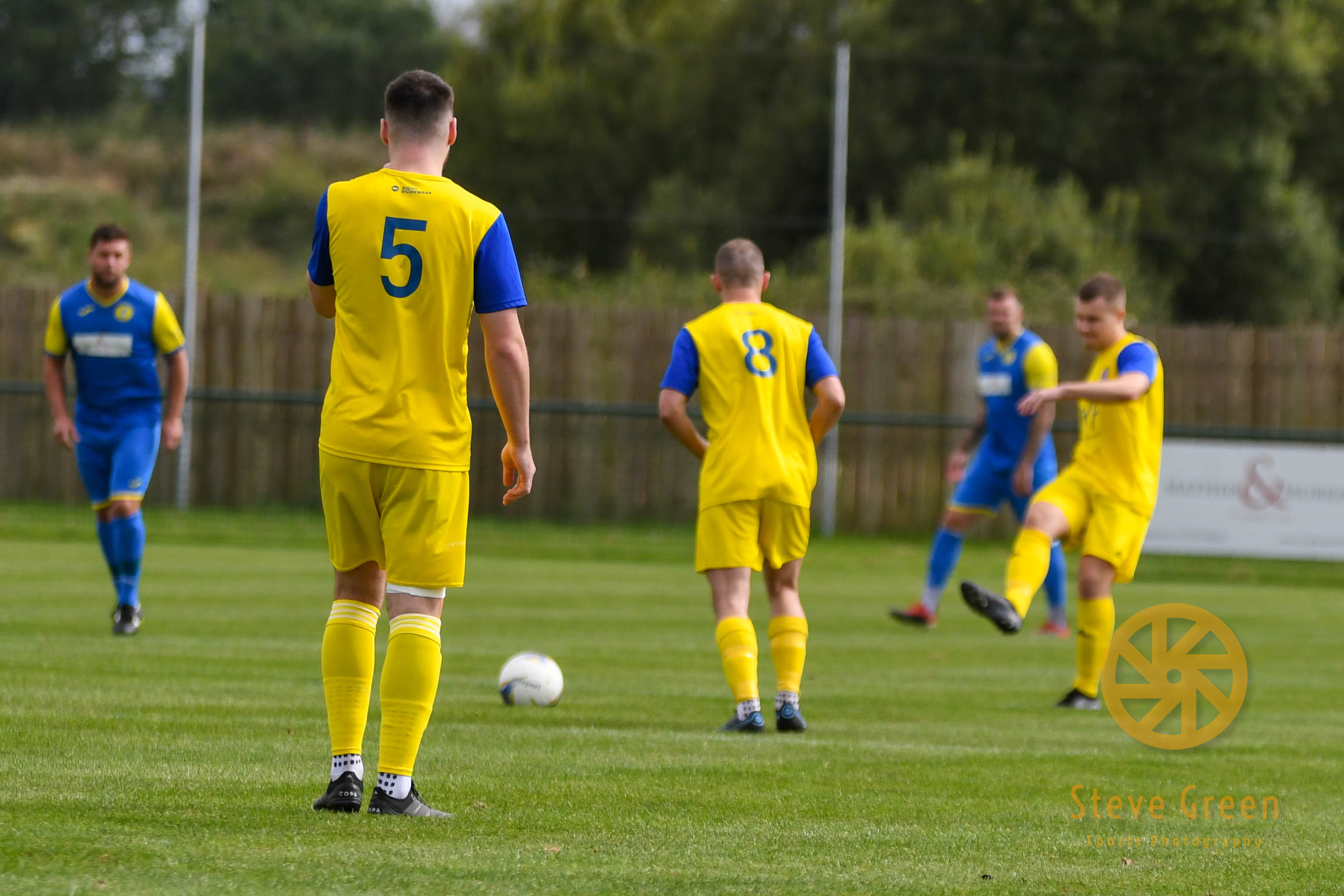 Photos from Royal Wootton Bassett Town's 3-1 win against Hereford Lads Club (Credit: Steve Green)