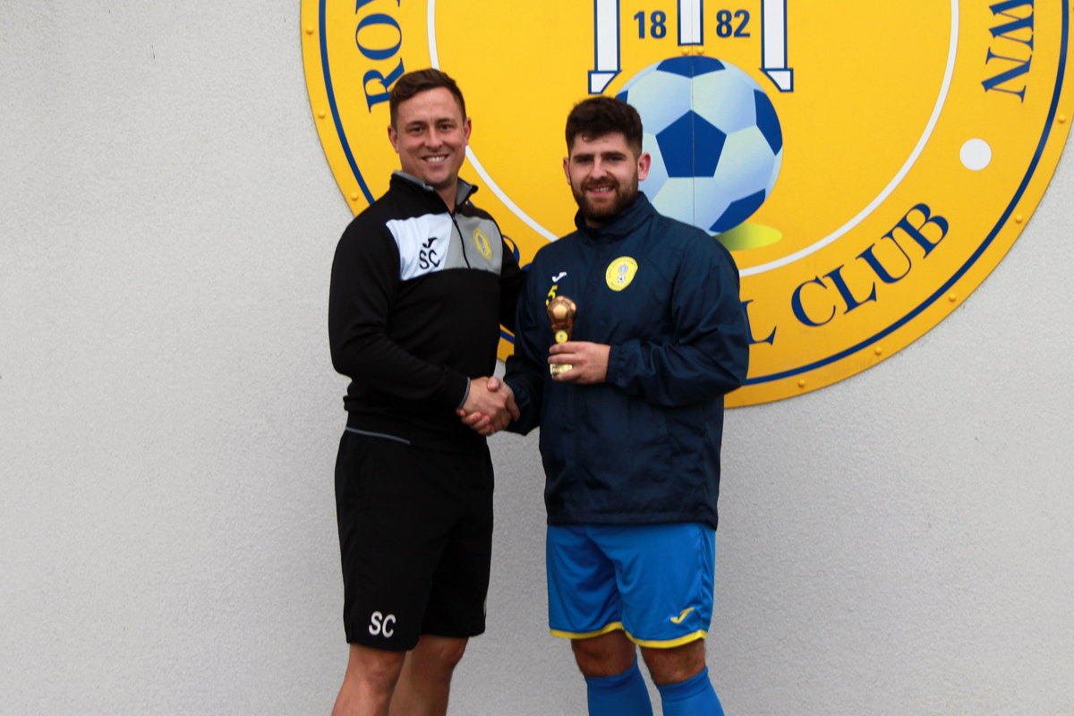 Royal Wootton Bassett Town 2020-21 Manager's Player of the Year Sam Ockwell (Credit: )
