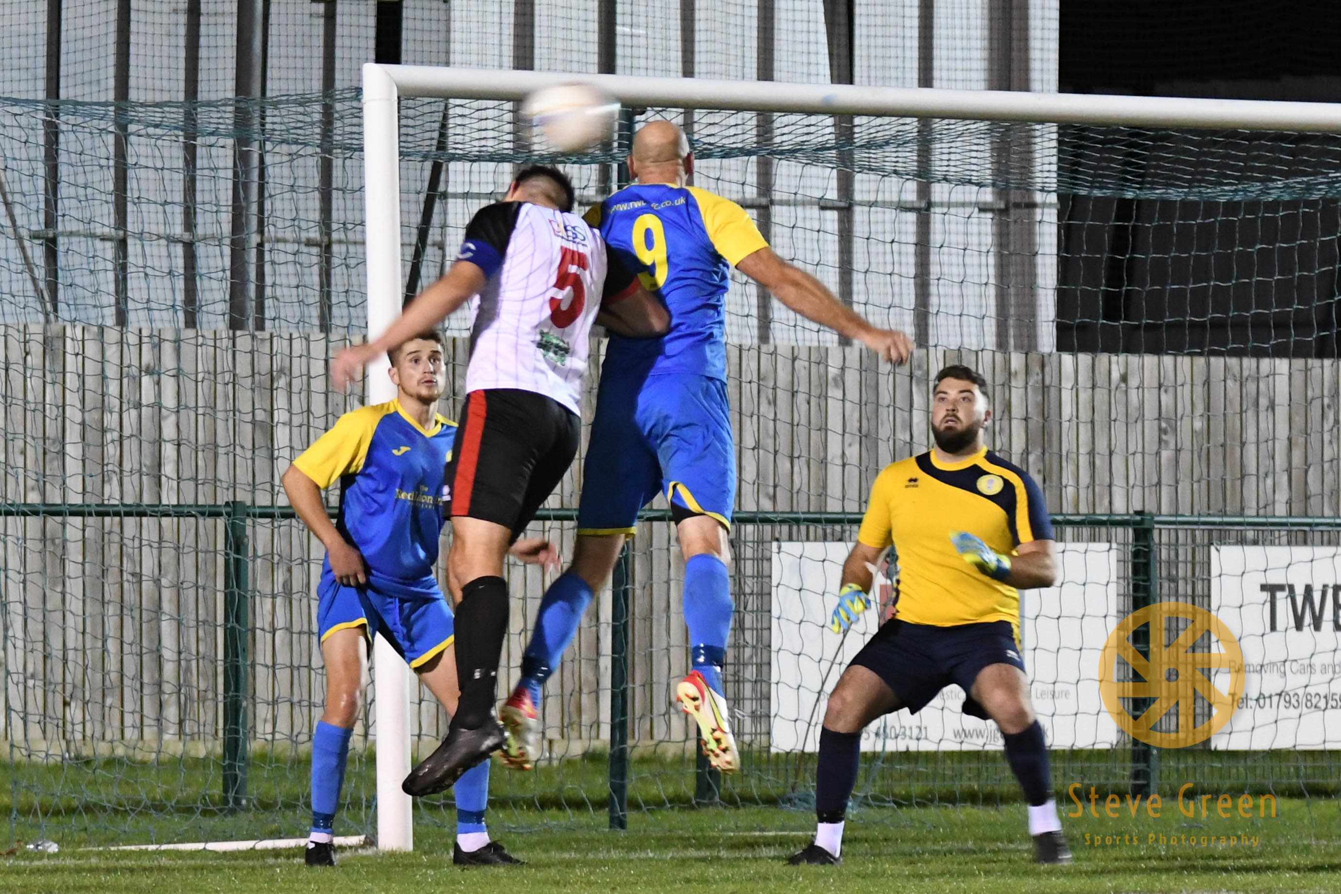 Photos from Royal Wootton Bassett Town's 1-1 draw with Lydney Town (Credit: Steve Green)
