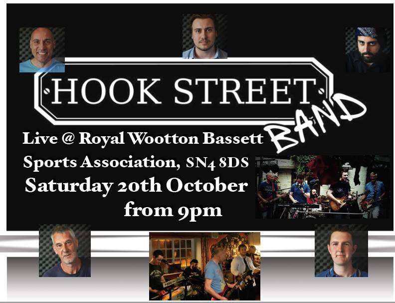 Hook Street Band poster