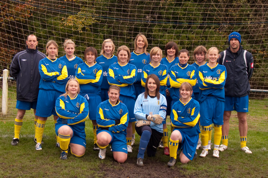 Ladies 2010/2011 Team Photo