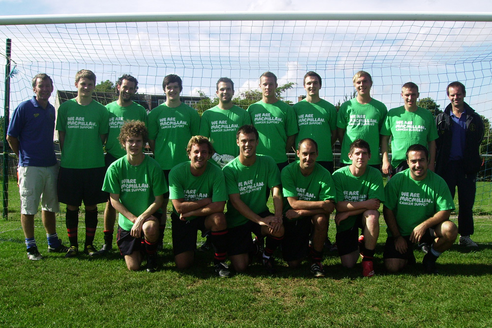 Reserves 2010/2011 Team Photo