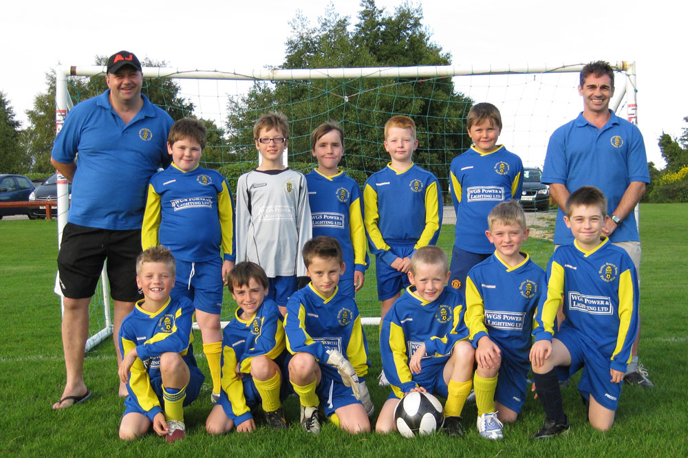 Under 10 Blue 2010/2011 Team Photo