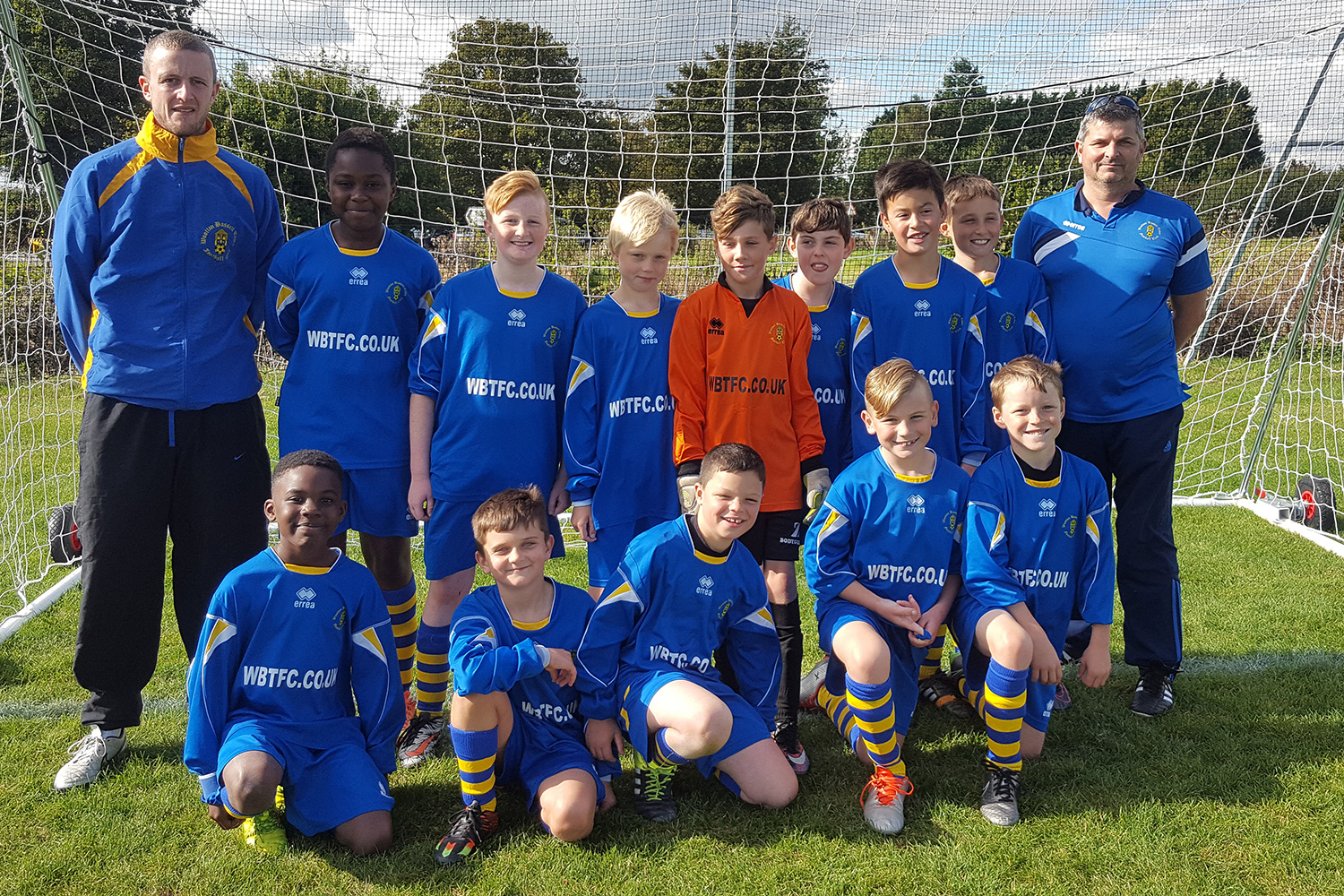 Under 11 Blue Team Photo