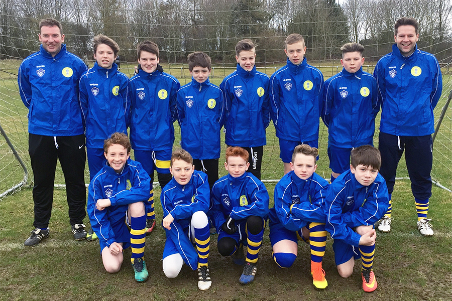 Under 13 Blue 2016/2017 Team Photo