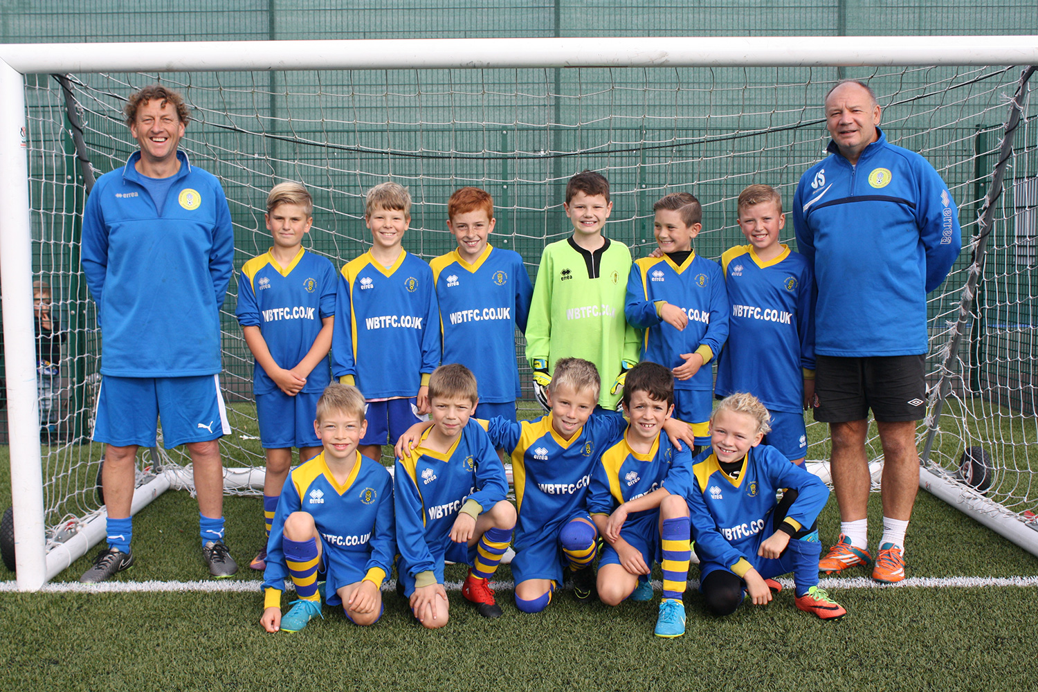 Under 10 Blue Team Photo