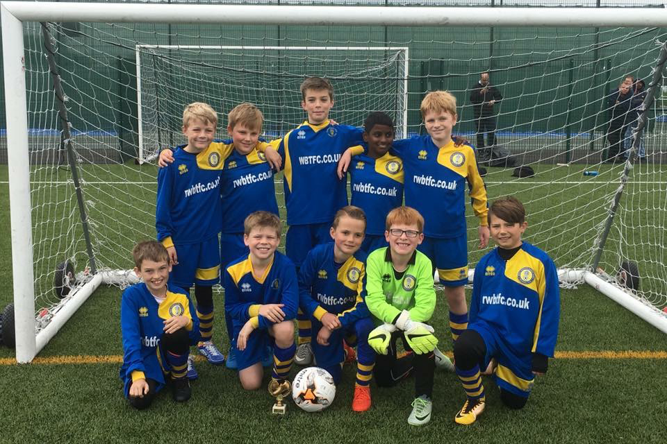 Under 10 Yellow Team Photo