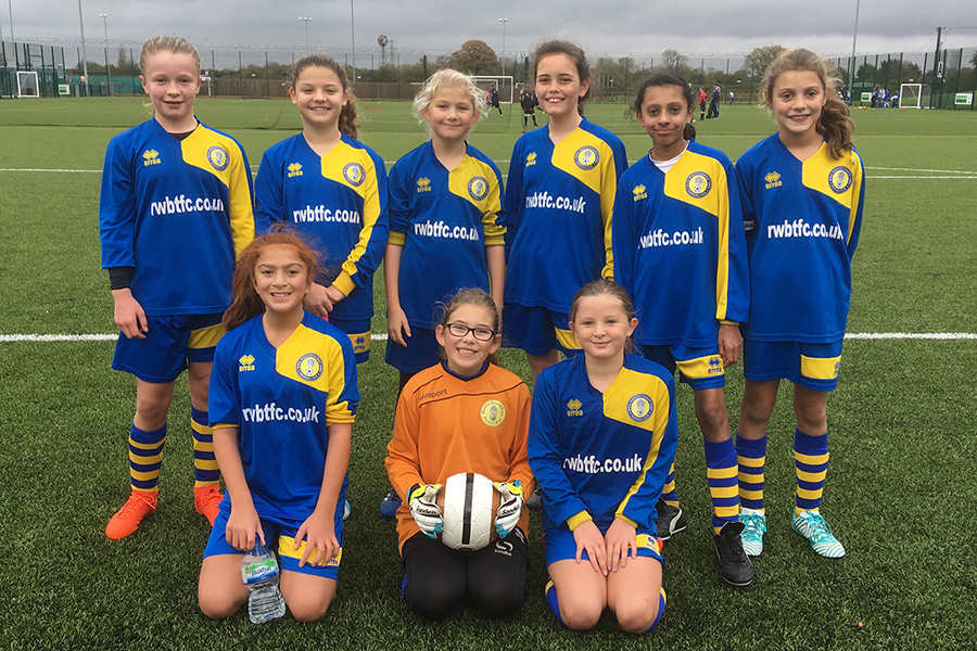 Under 12 Girls 2017/2018 Team Photo