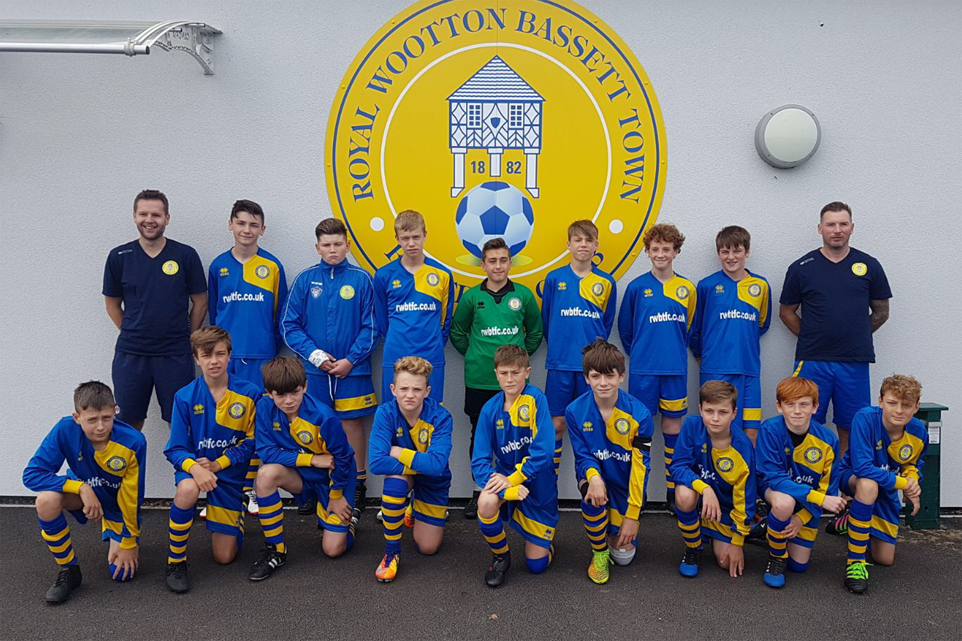 Under 14 Blue Team Photo