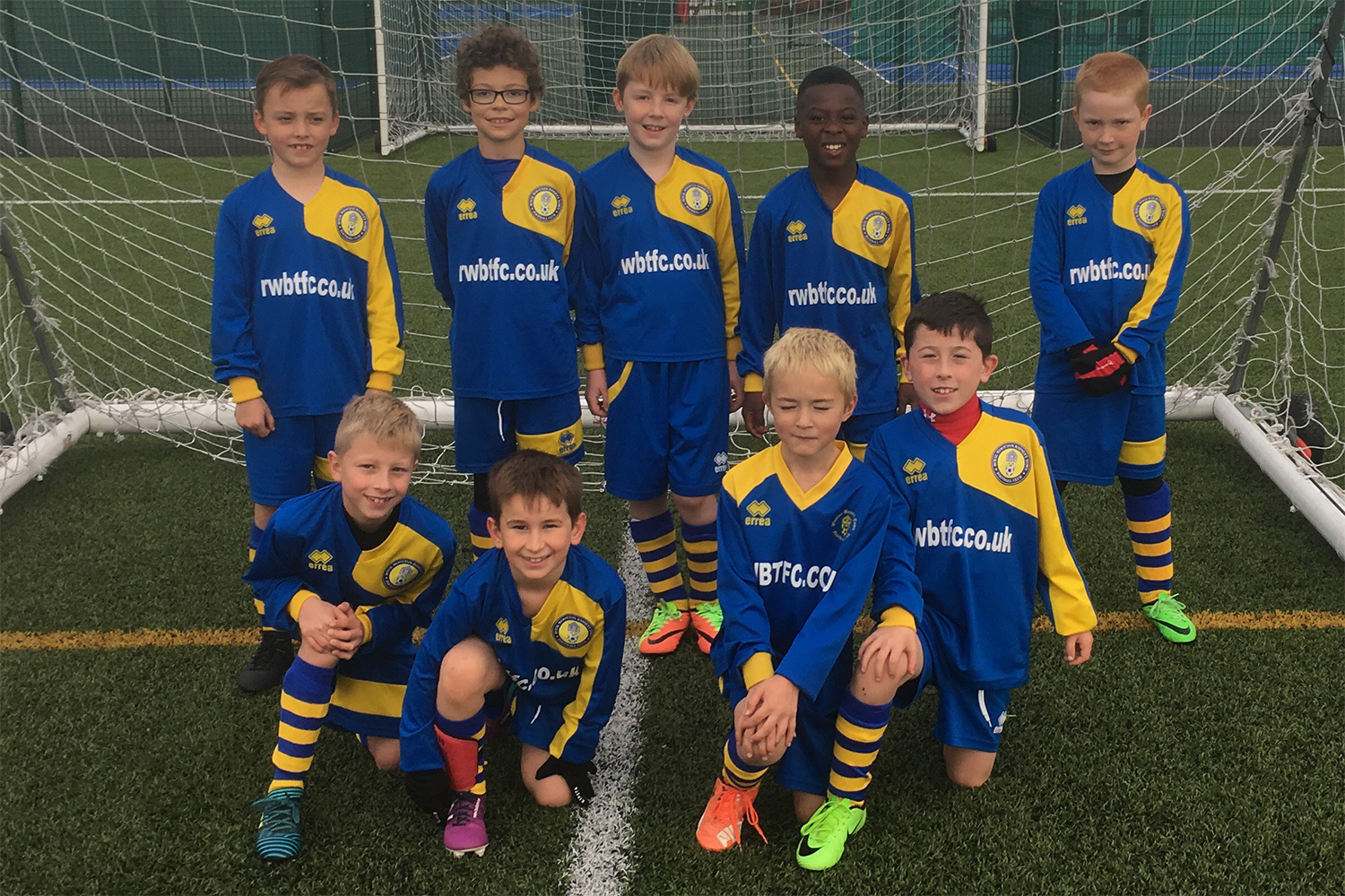 Under 9 Yellow Team Photo