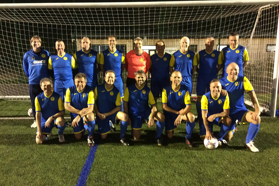 Over 50s Team Photo