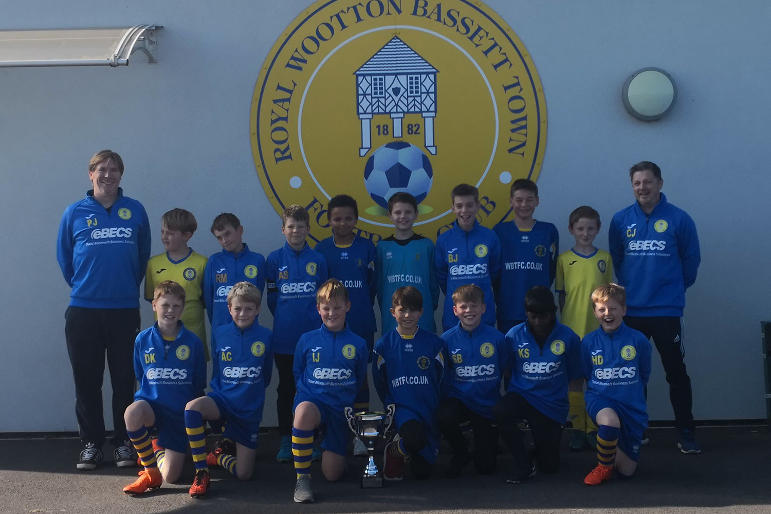 Under 11 Yellow Team Photo