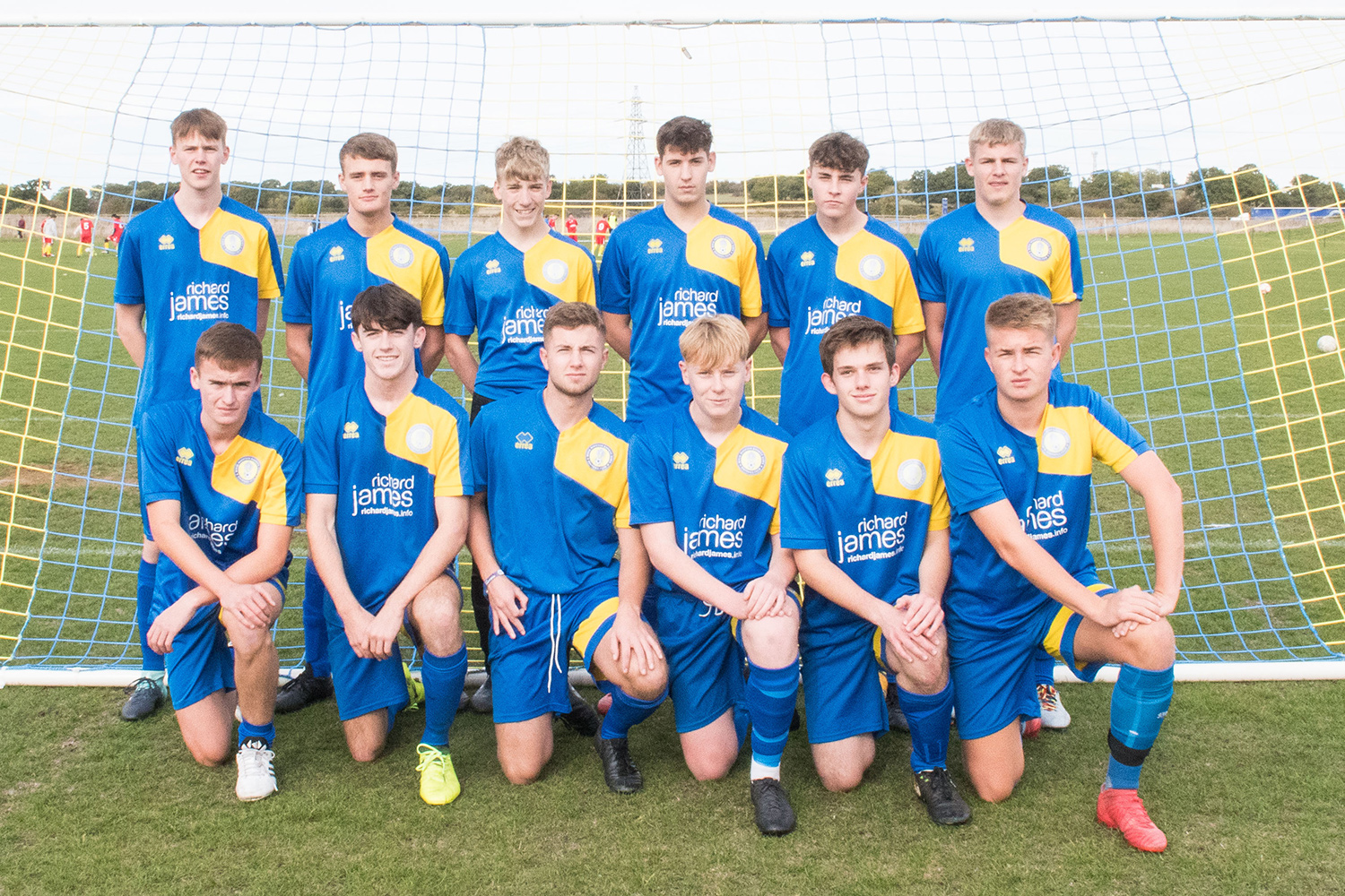 Under 18 Blue Team Photo