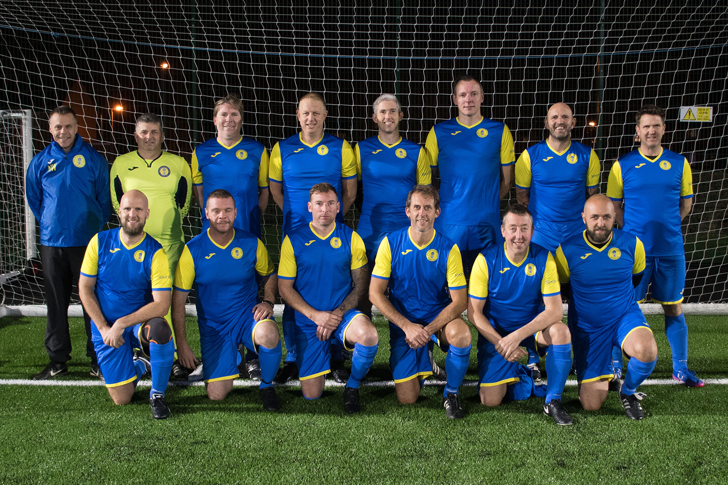 Veterans 'Blue' Team Photo