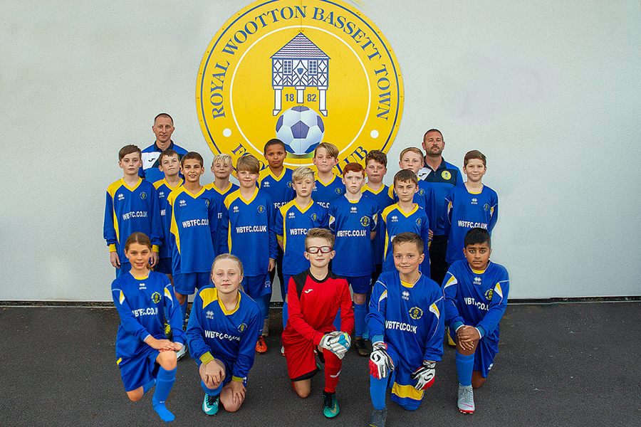 Under 12 White Team Photo