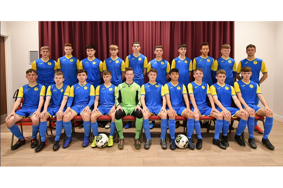 Under 18 Yellow Team Photo