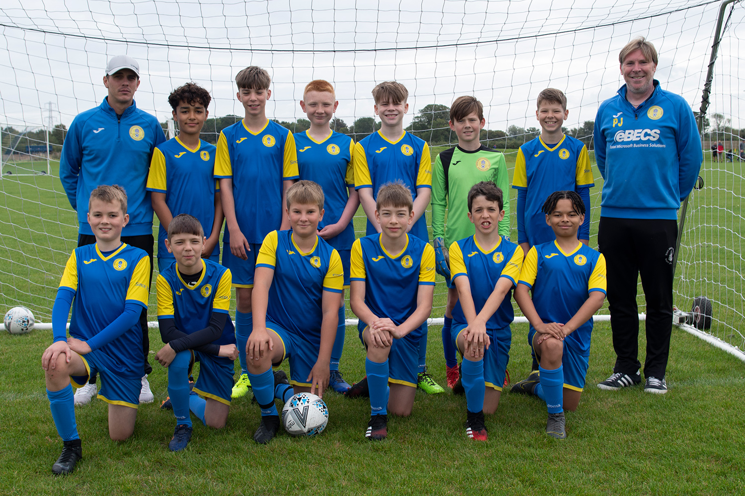 Under 13 Blue Team Photo