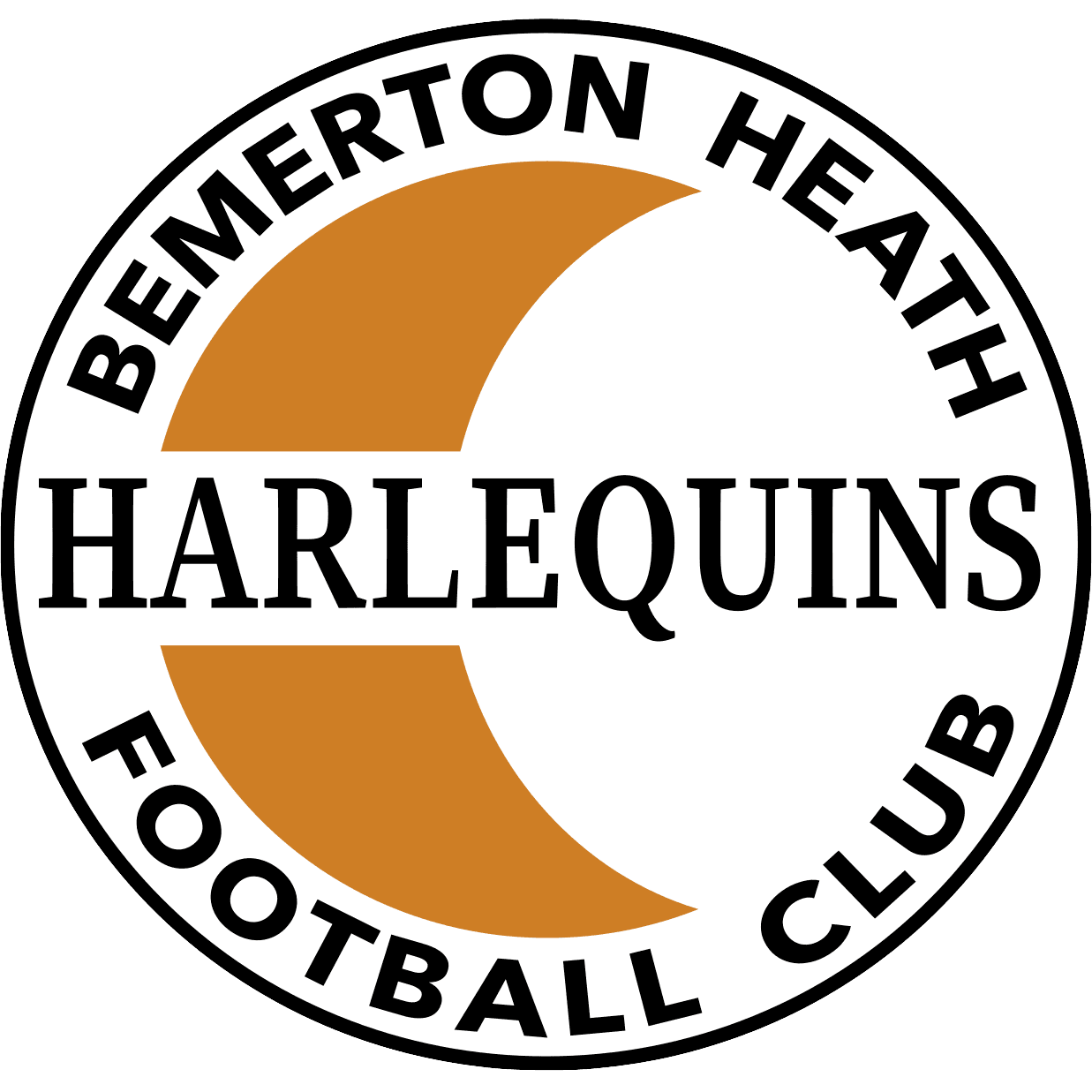 Bemerton Heath Harlequins Logo